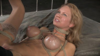 Rain DeGrey bound and brutally assfucked by 10 inches of BBC