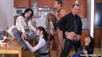 The Piss And Jizz Surprise with Celine Noiret, Jenna Lovely, Kate Gold, Adel Sunshine