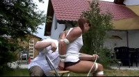 Outdoor Tied (Lillian Caine) SuperTightBondage