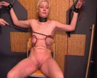 Xtremepain-SVP 55 Torturehour With Slave Julia Part 2 (VHSRip)