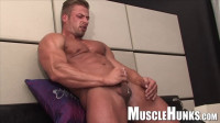large hand beach - (Kane Griffin - Handsome Blond Muscle)