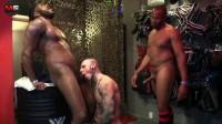 Hot Threesome Quawn, Rod & Pig Boy Ruben (720p)