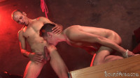 Studly Dom Dicks His Prey In Suspension And Hogtie