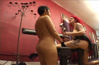 Lesbian hardcore BDSM