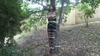Tied to a Tree in Lingerie - Behind the Scenes with Ashley Renee