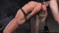 Sexy Blonde Madelyn Monroe Bound On A Sybain And Utterly Destroyed By Dick!