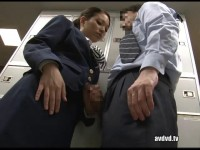 DANDY — 202-Ejaculation of Female Flight Attendant