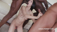 Interracial Busters In Hard Gangbang With DAP