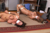 Bound and Gagged -Office Trouble Part 3 – Darla Crane and Ariella Ferrera