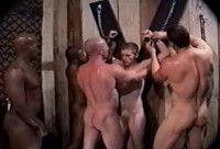 Interracial Group BDSM Fuck