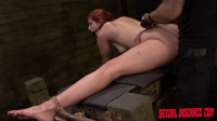 Rose Red Tyrell's Asshole Is Fucked Rough Deep In Rope Bondage With BDSM Fun (2015)