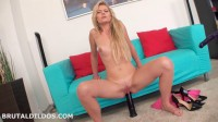 Claudia Mac Big Dildo Anal Machine Fuck (2015)