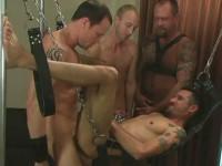 Bottom Men Orgy