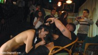 Perky Carolina Abril is Ravaged and Shamed in Crowded Bar