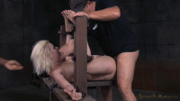 Cherry Torn restrained in fuck and used hard by big dick