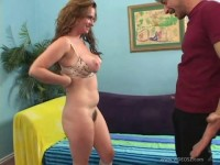 Fucking Mature Lady's Hairy Crotch