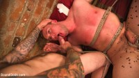 Online hookup turns into a night of kinky sex for BDSM virgin