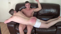 Spanking Competition Part One - Adam & Wayne