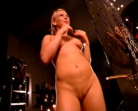 Slut in torture room