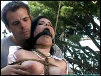 FS – Backyard Bondage Fun with Sybil – Part 1