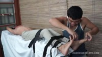 Jordan On The Tickle Rack - gay asian, first time, asian twink.