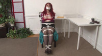 Bound And Gagged – Secretary Andrea Rosu Tied Up And Topless