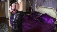 Super bondage, domination and mummification for young slut