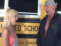 School Bus Girls 4