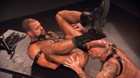 Nate Pierce and Roman Wright - Leather and Piss - Scene 1 - photo cul gay!
