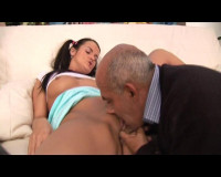 Sweet pussy For a strange daddy, scene 1