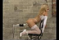 Sexy Blond Babe Bondage
