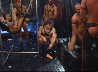 Leather Punks In Hardcore Gangbang