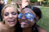 Jada Fire and Mia Bangg share a lot of intimate moments on camera...