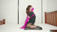 Restricted Senses - Taped, Gagged, Hooded, Armbinder'd & Belted