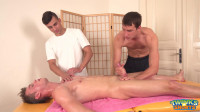 Aaron Hendricks Gets Double Massage (1080p)