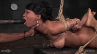 Hot Black Girl In Brutal Bondage