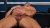 star english dick (Alec Hudson goes straight to pumping his cock).