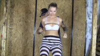 Introducing Ashley Wildcat In First Time Roped