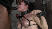 Pretty pale Veruca James gets shackled