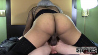 Black Shemale Fucks Hot Slut