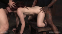 Violet Monroe restrained doggy style