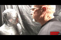 SI — Medical Toys Mummification Fetish Fun With Plastic and Duct Tape