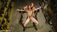Muscled House Slave Begs to Cum In Bondage