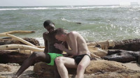 Beach-time fun for Mike James as he sucks and fucks Devon LeBron's mammoth black dick! (ass, stud, mirror, online)