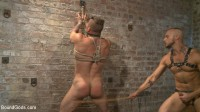 Cock hungry leather studs play in a dark basement (gay vacation, man gay, twink bareback).