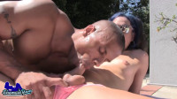 ShemaleYum – Kelli Lox & Robert Axel Fuck Poolside
