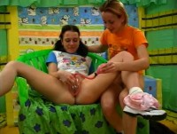 Seventeen Lickin Schoolgirls