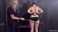 Slave Abigail Dupree Caned (13 Jan 2016)