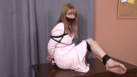 Bound and Gagged – Hogtied LadyBoss – Lorelei Barefoot and Bound