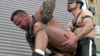Dolan Wolf and Marc Angelo , hearty boys having dense...